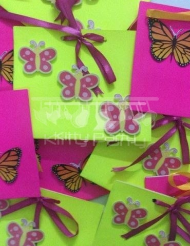 Butterfly Theme Envelopes