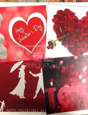 Happy Valentines Day Table Mats