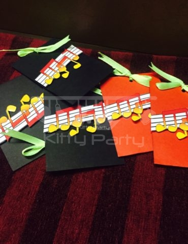 Musical Notes Envelopes