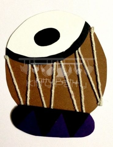 Tabla Musical Theme Tambola Tickets