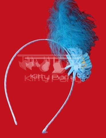 Hairbands (Blue Flower)