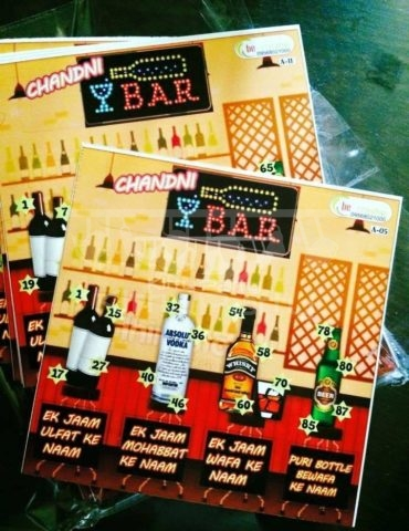 Candini Bar Tambola Tickets