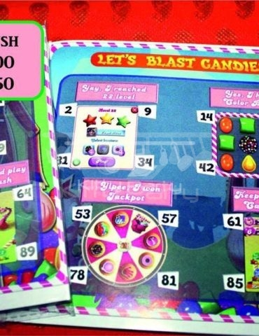Let's Blast The Candies Candy Crush Tambola Tickets