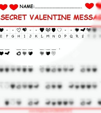 valentine love theme paper game kittypartyycom valentine game