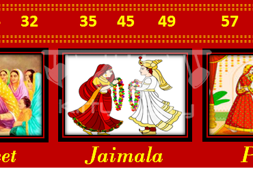 Wedding Tambola Tickets