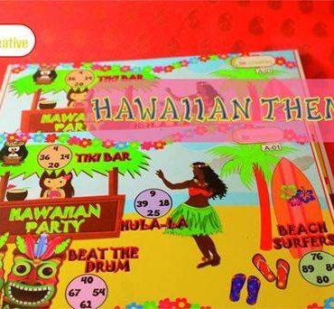 Hawaiian Kitty Party Theme