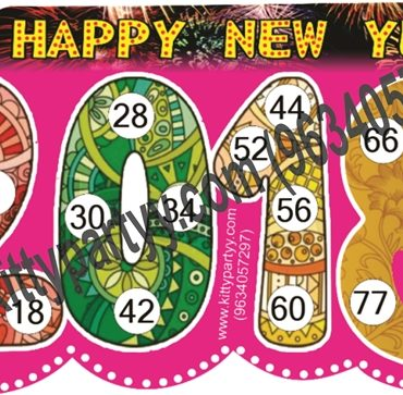 Happy New Year Kitty Party Theme