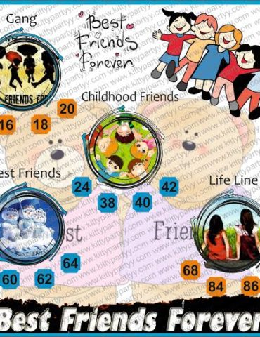 Friends Forever Kitty Party Theme