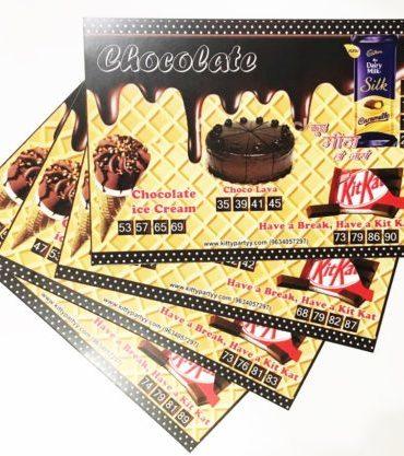 Chocolates Kitty Party Theme