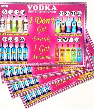 Cocktail Kitty Party Theme