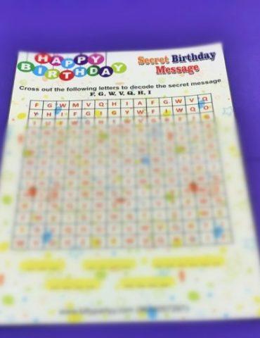 Birthday Party Theme