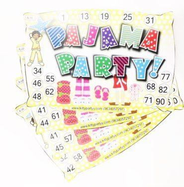 Pajama Party Kitty Party Theme