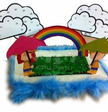 Monsoon Kitty Party Theme