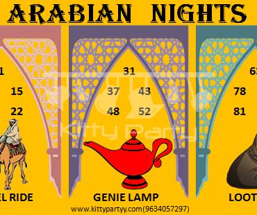 Arabian Nights Kitty Party Theme