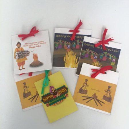Lohri Theme Envelopes