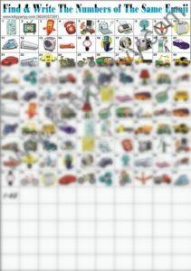 Emoji paper game