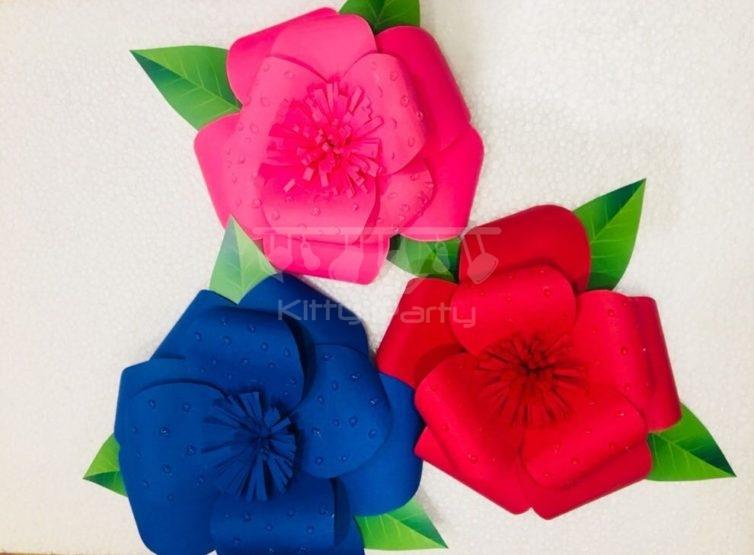 Handmade Flowers Decoration