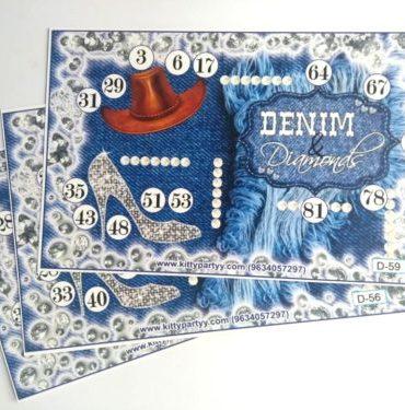 Denim & Diamonds Kitty Party Theme