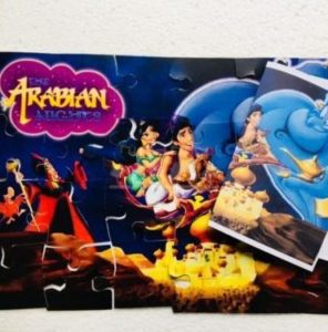 Arabian nights puzzle game