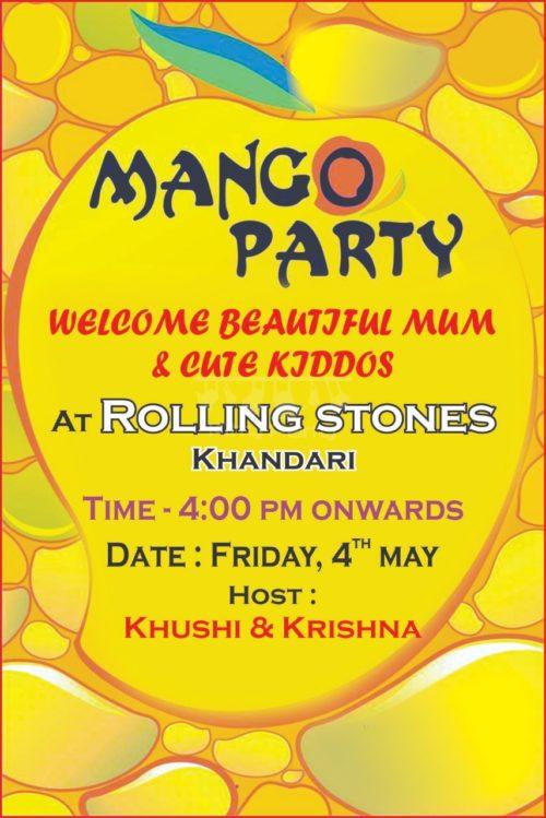 Mangoes Theme Whatsapp Invite KittyPartyy
