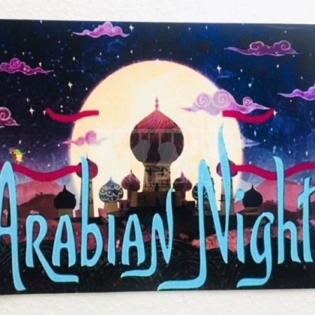Arabian nights theme party