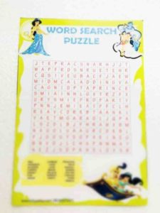 Arabian nights word search puzzle game