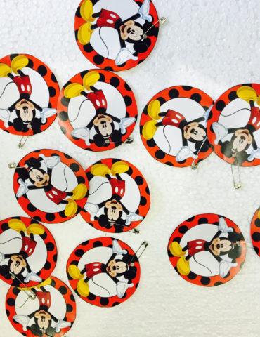 Mickey & Minnie Birthday Party Theme