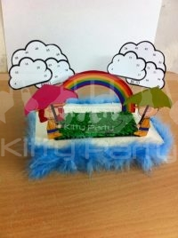3D Monsoon handmade kitty party tambola game