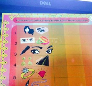 Teej Shringar Paper game
