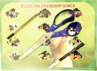 Guess the friendship song paper game