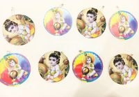 Janmashtami theme badges
