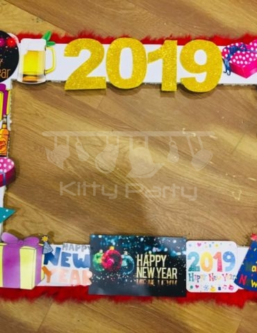 happy new year photo frame